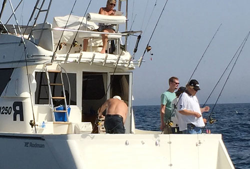 Marbella deep sea fishing charters